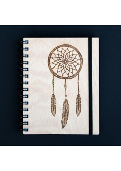 Rokovnik WoodBook - Dreamcatcher 2018