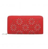 Ženska denarnica Rdeča