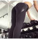Legice Fitness Workout Black Skin