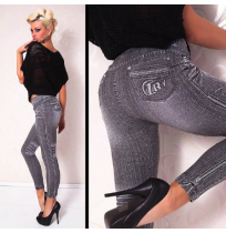 Legice Gray Fashion Style Denim 1