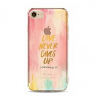 Etui Iphone 5/5s Love never gives up