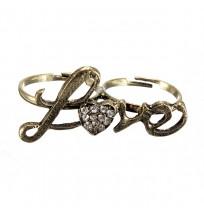 Ženski prstan Bronze Love